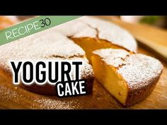 Desserts With Yogurt : Super Simple Yogurt Cake Prepared in 10 minutes - Desserts With Yogurt Video Desserts With Yogurt Never buy packet cake mixes again, this incredible cake is so simple and virtually fail proof. Yogurt Dessert, Yogurt Cake, Easy Cake Recipes, Sweet Recipes, Dessert Recipes, Fun Recipes, Tea Cakes, Cupcake Cakes, Just Desserts