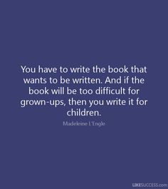 childrens book best quotes - Google Search