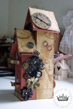 Searchwords: Steampunk Birdhouse **CT Work Flying Unicorn**