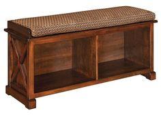 Amish Dexter Bench Seat