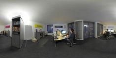 Virtueller 360° Panoramarundgang durch unser Büro in Ahaus