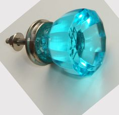 Cool Antique glass door knobs.
