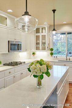 classic white kitchen with a bright schoolhouse inspiration read