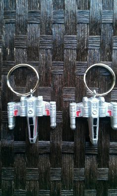 XWing Starfighter Key Chain by InfernoCreations on Etsy, $6.00