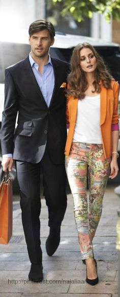 Olivia Palermo and Johannes Hueb http://mydearbag.blogspot.com.es