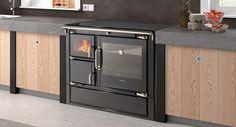 Cocina #Hergom ECLECSYS fabricado en hierro fundido y con horno en acero inoxidable.