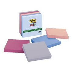 Post-it Super Sticky Recycled Notes 5 Pack