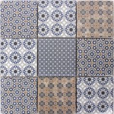 Keramik Mosaik Fliesen Zement Optik Classico ähnliche Tolle Projekte - Mosaik fliesen terracotta
