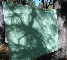 Vintage Mint Green Lace Large Tablecloth OR by NopalitoVintageMore, $20.00