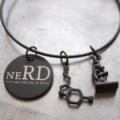 neRD Bangle | Dietitian Jewelry | Dietitian Gift