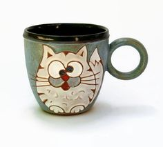 Hey, I found this really awesome Etsy listing at https://www.etsy.com/listing/199665931/crazy-cat-mug-funny-cat-mug-gift-for-cat