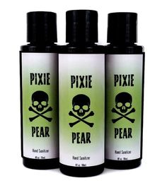 6 Pixie Pear Hand Sanitizer (4 oz)