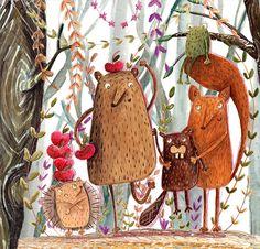 olishka | Illustrations by Aleksandra Szmidt