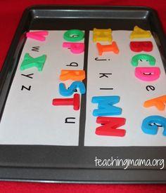 Alphabet Matching Game