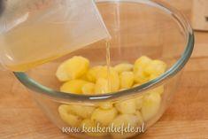 Goddelijke aardappelsalade - Keuken♥Liefde Cantaloupe, Pasta, Fruit, Recipes, Food, Salads, Recipies, Essen, Meals