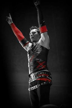 Richard Kruspe. Again old enough to be my dad but like wine and cheese he's got better with age <3