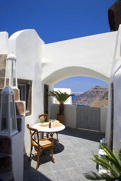 Mediterranean Living | Blue Angel Villa, Santorini
