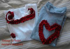#Free Tutorial - Ruffles Top - #sewing #DIY #recycle #refashion  marnero.blogspot.it