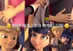Miraculous Ladybug SEASON TWO IS NOT DISAPPOINTING!  This mini dance scene is giving me life.   Part 2: after Adrien pulls Marinette onto the dance floor- he PLACES HER HANDS where they need to be- where HE WANTS THEM- like no Marinette I will not allow you to be awkward with me now. CatNoir is SHOWING!!!!   Yassss!!!! For Adrien being the manly lead without realizing it!!!  #mlb #MIRACULOUS #yasssMrAgreste #letYourLoveShineThrough #seizeTheMoment #adrien #adrienette  #isOnTheRise