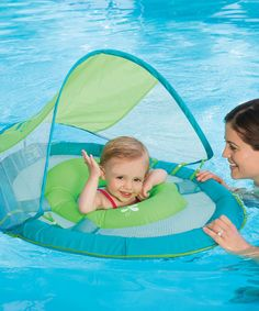 Love this Whale Canopy Baby Spring Float on #zulily! #zulilyfinds Toddler Swimming Pool, Baby Pool, Swimming Pools, Baby Canopy, Sun Canopy, Baby Swim Float, Inflatable Float, Whale Print, Pool Floats