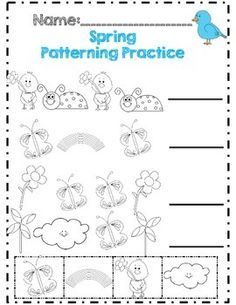 *No Prep* Spring Time in Kindergarten Math & ELA Packet - Distance Learning Sight Word Practice, Sight Words, Common Core Standards, Kindergarten Math, Writing Prompts, Spring Time, Distance, Prepping, Classroom