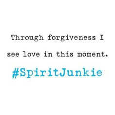 Forgivenesd