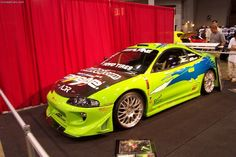 Eclipse 1995 Mitsubishi Eclipse Fast and Furious! Skyline Gtr, Nissan Skyline, Mitsubishi Eclipse Gsx, Tactical Truck, Super Fast Cars, Japanese Domestic Market, Drifting Cars, Tuner Cars, Fast And Furious