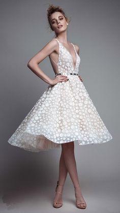 cool Красивое белое короткое платье (50 фото) — Лучшие идеи нежных образов Читай больше http://avrorra.com/beloe-korotkoe-plate-foto/