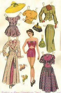 Vintage Images: Paper Dolls