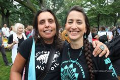 Honor The Earth We are Protectors, Not Protesters + Love Water Not Oil