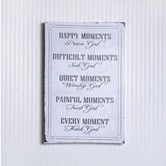 Found it at Wayfair.ca - Happy Moments Praise God Canvas Sign Wall Décor
