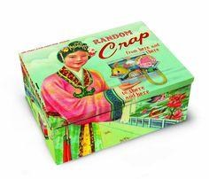 Amazon.com: Blue Q Random Crap Cigar Box: Home & Kitchen