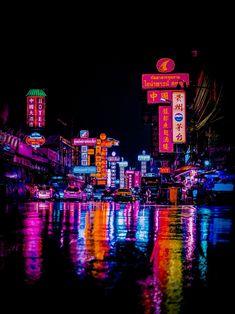 Neon Photography, Amazing Photography, Tokyo Streets, Neo Tokyo, Cyberpunk City, Neon Nights, Night Vibes, Neon Aesthetic, Tokyo Olympics