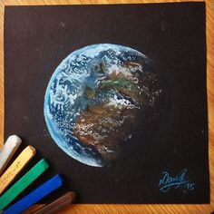 our blue planet 🌍 - pastel crayons  #art #illustration #painting #artist #sketch #drawing #artsy #instaart #beautiful #creative #photooftheday #instaartist #graphic #artoftheday #earth #artistic_feature #arts_help #art_spotlight #sketch_daily #sharingart #artcomplex #arts_gallery #worldofartists #bestartfeatures #aartistic_dreamers #justartspiration #dailyarts #proartists #process_of_creativity #blvart