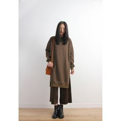 High Silts Oversized Sweat Tunic Top