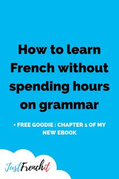 I'm not a big fan of grammar. That being said, grammar is somehow important. Let me tell you about French sentence mining. It will reduce the amount of time you have to spend on grammar. #learningfrench #frenchgrammar #grammarinfrench #learnfrench #french
