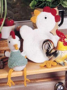 Chickens in the Kitchen, that's what I like. The is a GREAT site - with tutorials on a myriad of patterns.