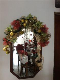 Espejos de navidad