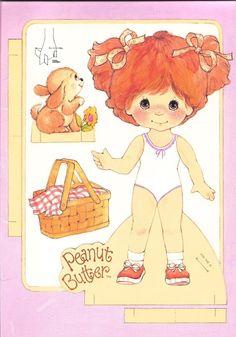 Paper Dolls~Peanut Butter & Jelly