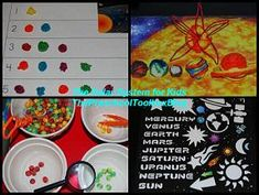 Solar System Activities for Kids - math, science, literacy, crafts and more for Summer Learning!