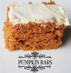 Might sub this for pumpkin pie for Thanksgiving...
