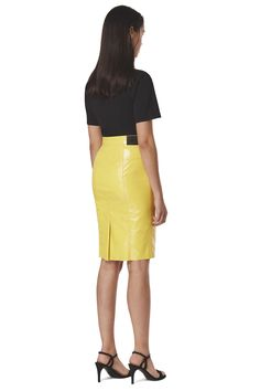 Margot  Vinyl Skinny Skirt Real Leather Skirt, Leather Skirts, Latest Jeans, Tapered Jeans, Hot Pants, High Waisted Skirt, Women Wear, Skinny, Sweatshirts