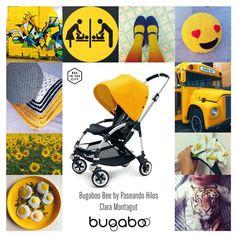 El #amarillo es delicado como un girasol, sabroso como la yema de huevo e impactante como el arte urbano. Al menos eso es lo que le sugiere a Paseando hilos en su #Moodboard para el #Bee #quieroserembajador #atodocolor #bugabooespana @BugabooES @Madresfera