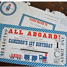 1st birthday train theme - Google Search