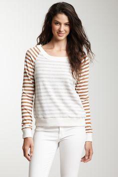 Alternative Apparel Knick-Knack Raglan Sweatshirt