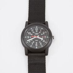 Timex Archive Camper Mini - Military Black/Black (Image 1)