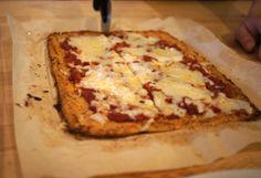 Detoxinista's Cauliflower Crust Pizza