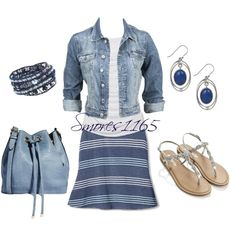 """""""Summertime Blues"""" by smores1165 on Polyvore"""