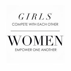☝️ It can be so hard at times being a girl, for sooo many reasons! But we don't have to make it harder for each other.. Why do we still feel the need to do that ?? I don't understand it. I have always been a Girls girl, and love other strong women. That is why I surround myself with them, and that is why I try to empower others. Trying to pull another person down, only speaks volumes about your character.! And not a thing about theirs.. There's nothing more powerful or beautiful tha...