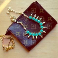Spotted while shopping on Poshmark: Emerald green necklace! #poshmark #fashion #shopping #style #Jewelry